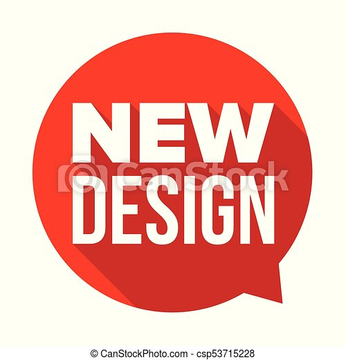 new design label tag sticker vector