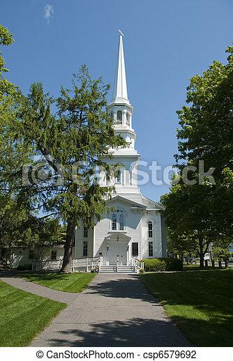 New england church - csp6579692