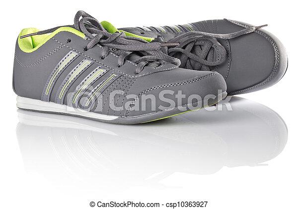new grey sneakers - csp10363927