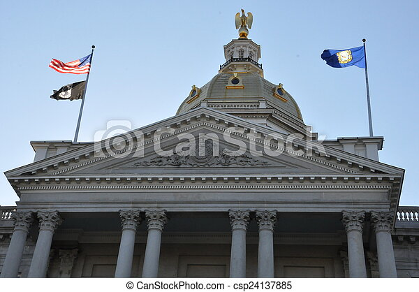 New Hampshire State House - csp24137885
