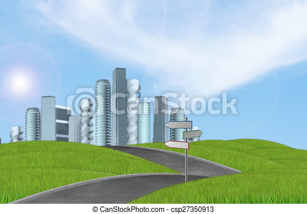 New high-rise buildings - csp27350913