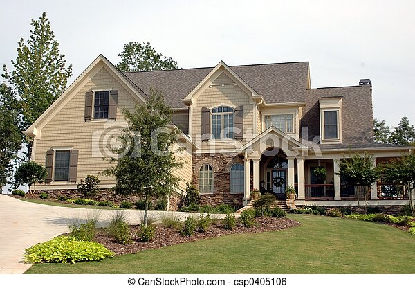 New Home Building - csp0405106