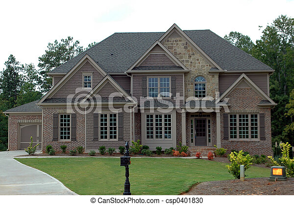 New Home Building - csp0401830