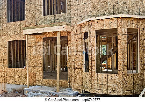 New Home Construction Details - csp6740777