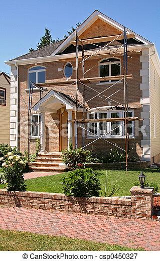 New Home Construction - csp0450327