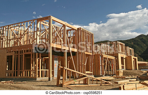 New Home Construction - csp0598251