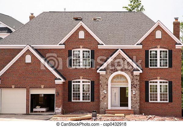 New Home Construction - csp0432918