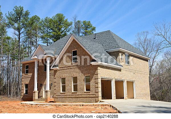 New Home Construction - csp2140288