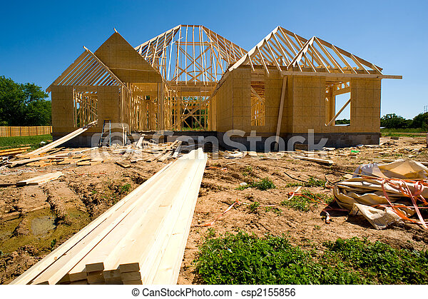 New Home Construction - csp2155856