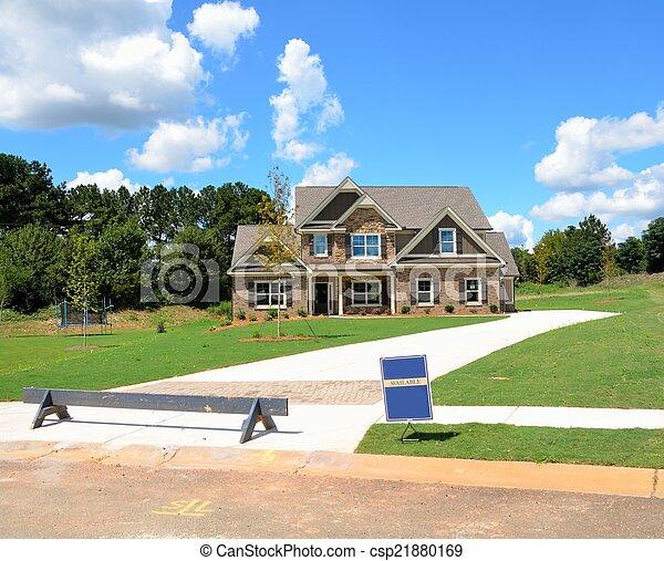 New Home Construction - csp21880169
