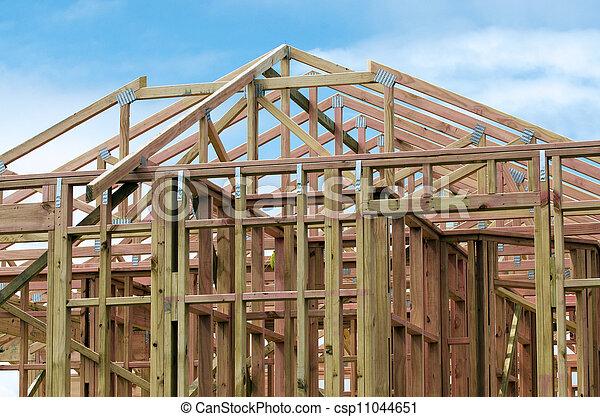 New Home Construction - csp11044651