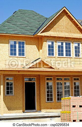 New home construction - csp0295834