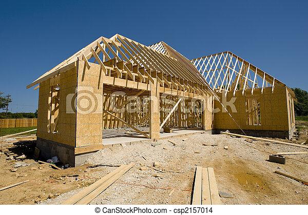 New Home Construction - csp2157014
