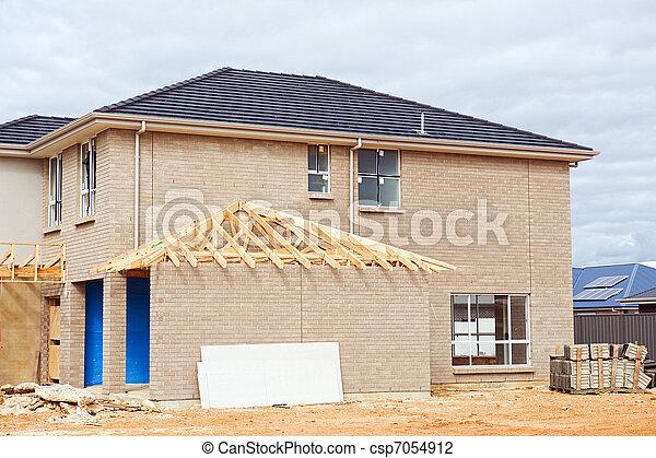 New home construction - csp7054912