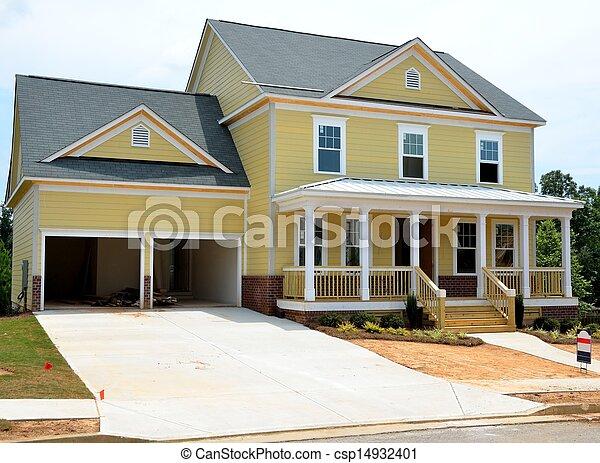 New Home Construction - csp14932401