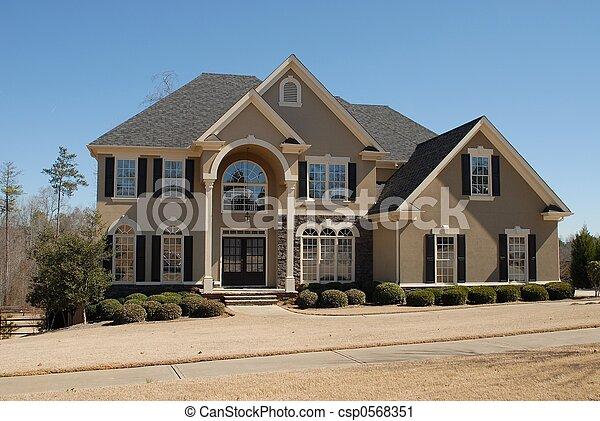 New Home - csp0568351