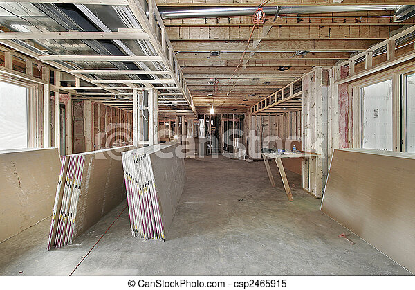 New home under construction - csp2465915