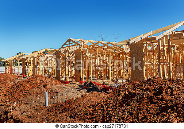 New homes construction - csp27178731