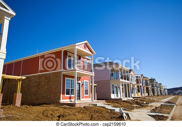 New Homes under Constructions - csp2159610