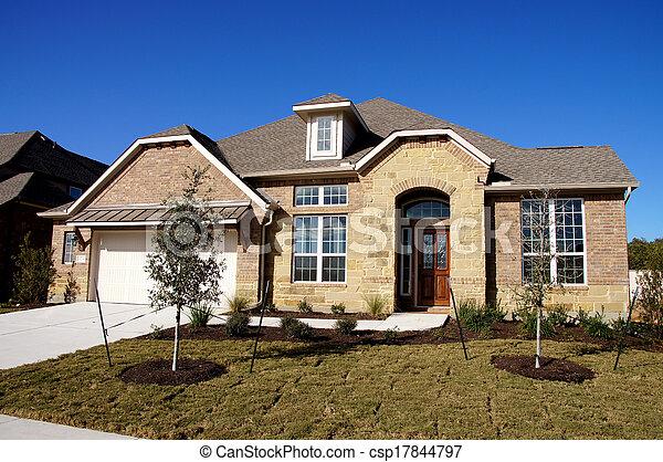 New House Construction Bungalow - csp17844797