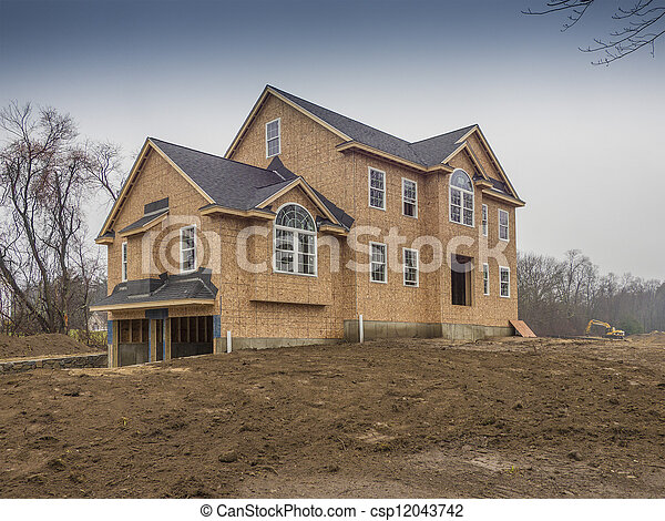 New House Construction - csp12043742