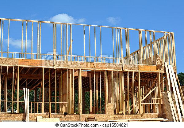 New House Construction - csp15504821