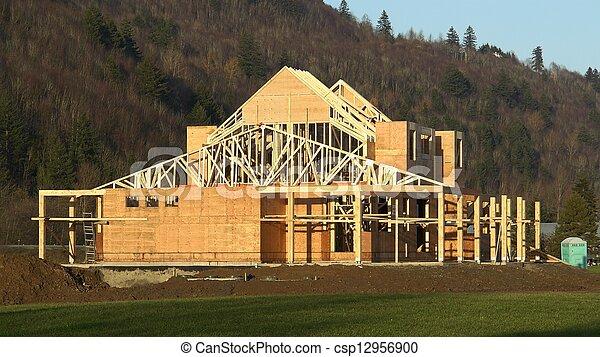New House Construction - csp12956900