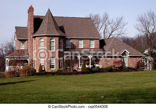 New House Victorian - csp0544308