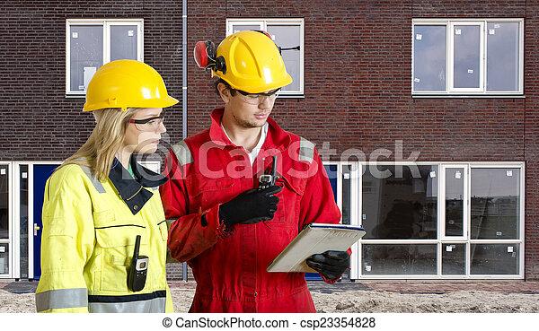 New Housing Development - csp23354828
