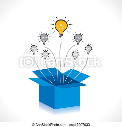 new idea or think out of the box - csp17907033