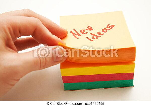 New ideas - csp1460495
