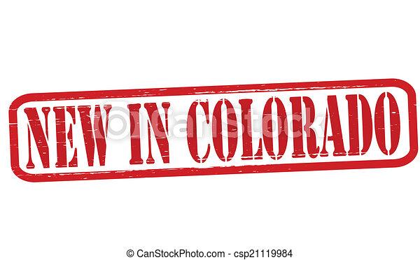 New in Colorado - csp21119984
