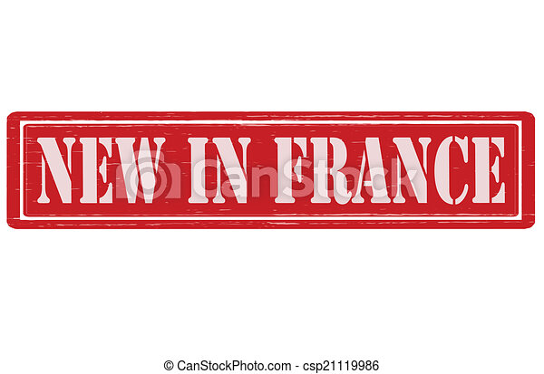 New in France - csp21119986