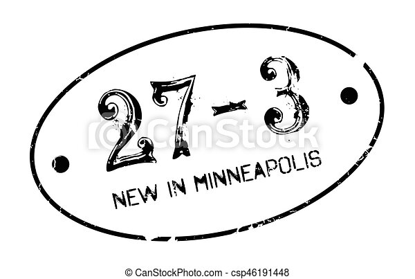 New In Minneapolis rubber stamp - csp46191448