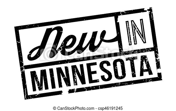 New In Minnesota rubber stamp - csp46191245