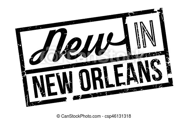 New In New Orleans rubber stamp - csp46131318