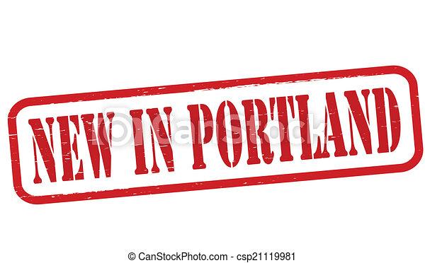 New in Portland - csp21119981