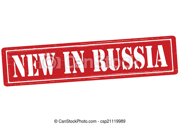 New in Russia - csp21119989