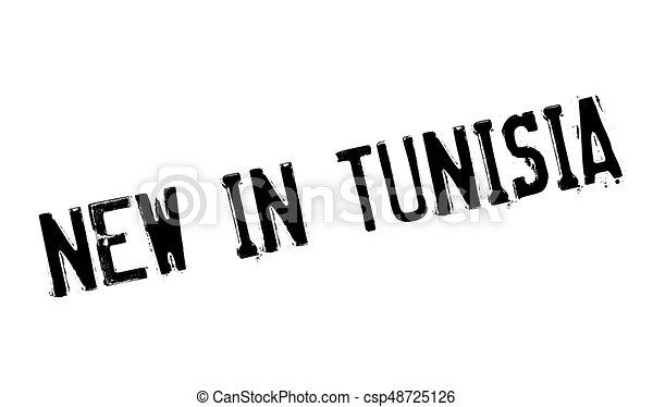New In Tunisia rubber stamp - csp48725126
