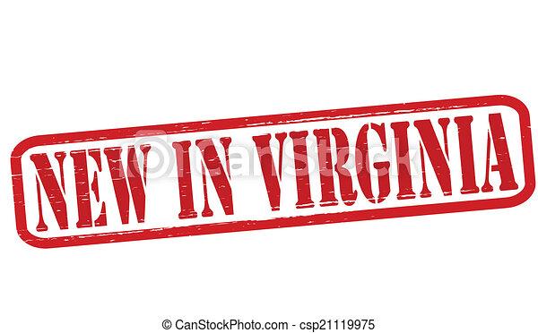 New in Virginia - csp21119975