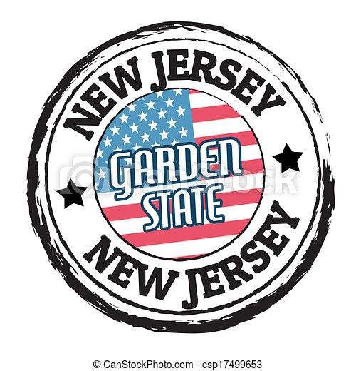 New Jersey Garden State Stamp