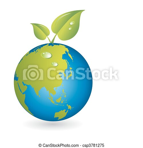 New life leaf with world map globe clipart vector search new life leaf with world map globe vector gumiabroncs Images
