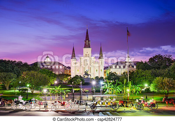 New Orleans Louisiana - csp42824777
