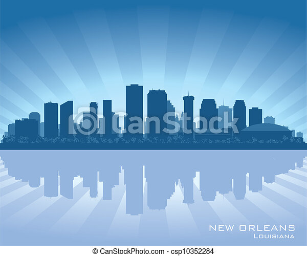 New Orleans, Louisiana skyline - csp10352284