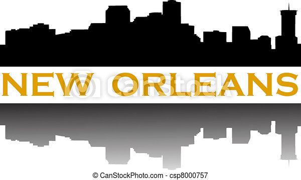 New Orleans skyline - csp8000757