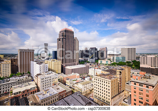 New Orleans Skyline - csp37300638