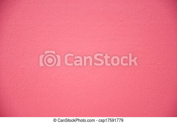 New pink wall - csp17591779