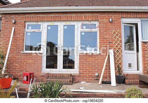 New plastic windows - csp19834220
