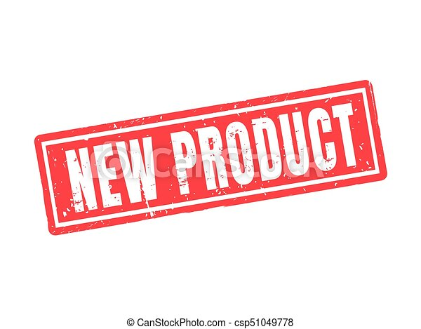 new product red stamp style - csp51049778