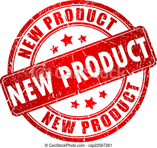 New product stamp. New...